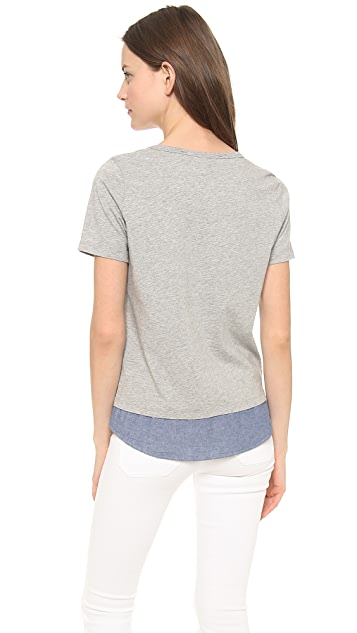 Clu Clu Too Shirt Tailed Top