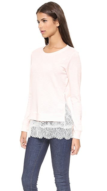 Clu Clu Too Ruffled Sweatshirt