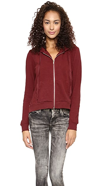 Clu Lace Backed Hoodie