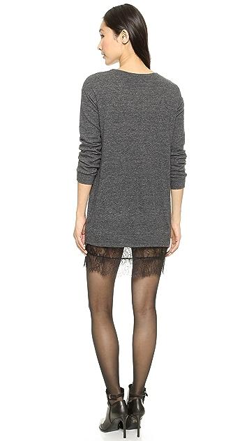 Clu Lace Sweater Dress