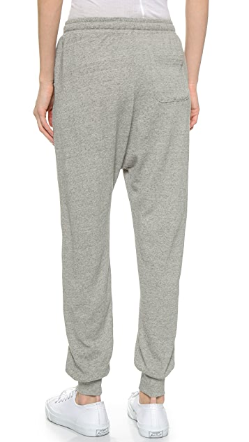Clu Cropped Terry Track Pants