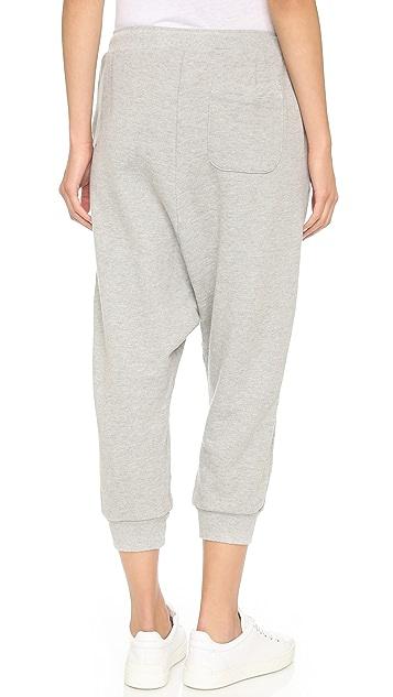 Clu Clu Too Asymmetrical Sweatpants