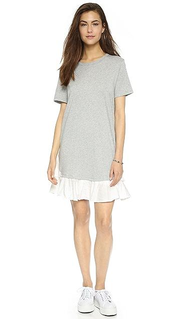 Clu Ruffle Tee Dress