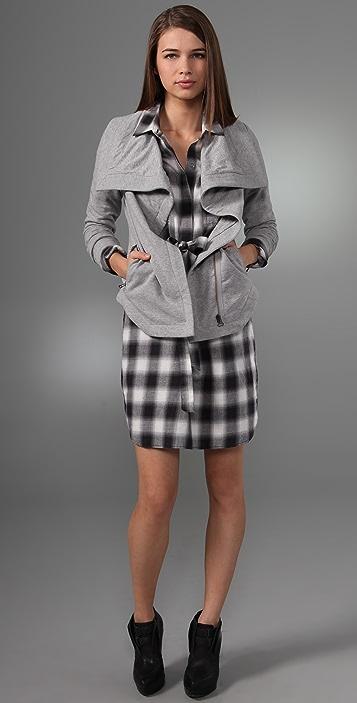 Club Monaco Brennen Knit Jacket