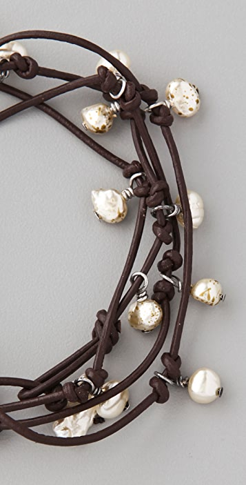 Club Monaco Pearl Rope Bracelet / Necklace