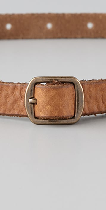 Club Monaco Terry Distressed Belt