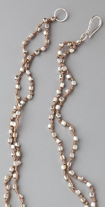 Club Monaco Paillette Rope Necklace