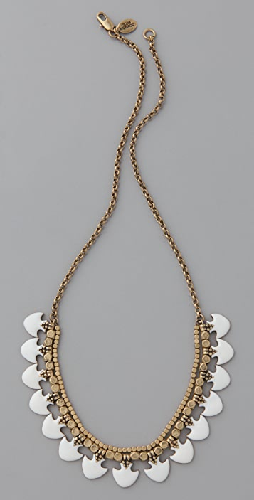Club Monaco Enamel Bead Necklace