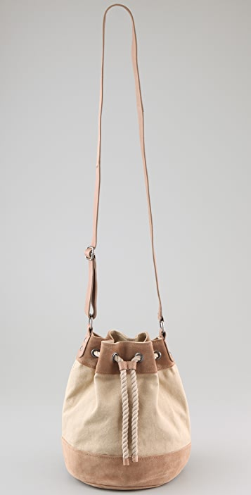 Club Monaco Caroline Drawstring Bag
