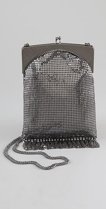 Club Monaco Cassandra Chain Mail Cross Body Bag