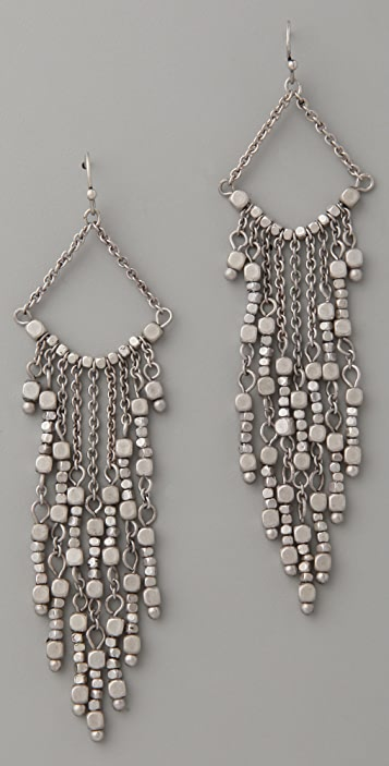 Club Monaco Beaded Fringe Earrings