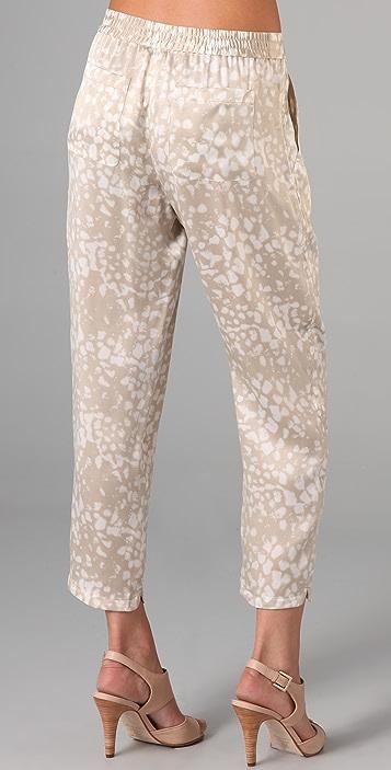Club Monaco Selena Printed Pants