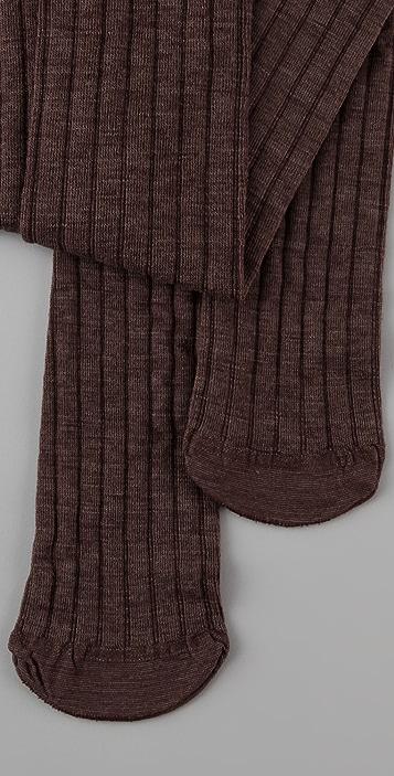 Club Monaco Wool Thigh High Socks