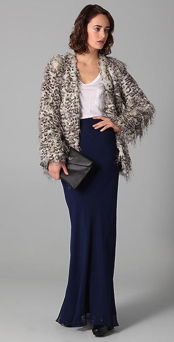 Club Monaco Claris Faux Fur Jacket