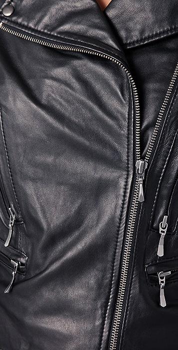 Club Monaco Carlye Moto Jacket