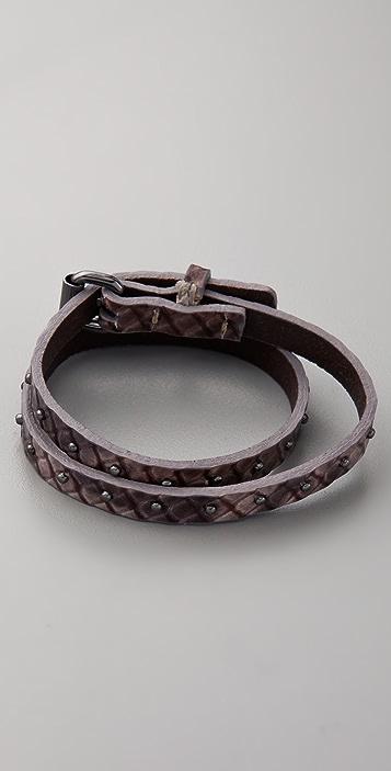Club Monaco Nancy Snake Wrap Bracelet
