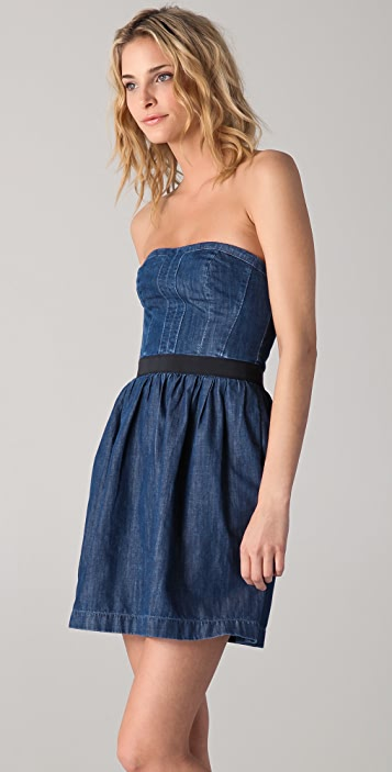 Club Monaco Karolina Strapless Dress