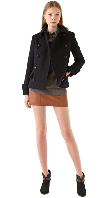 Club Monaco Lori Pea Coat