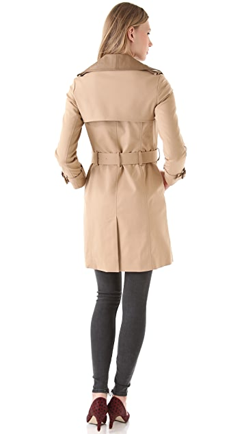 Club Monaco Harper Trench Coat