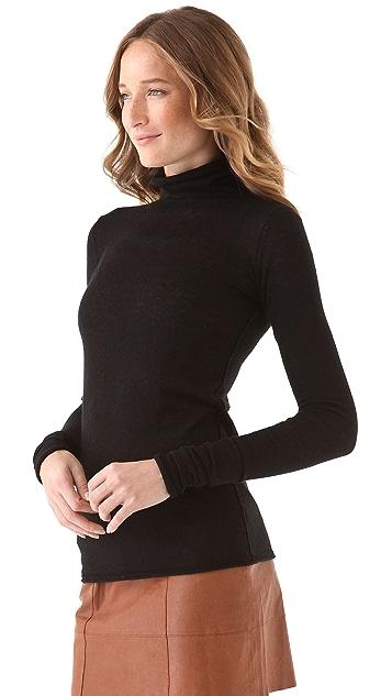 Club Monaco Julie Cashmere Turtleneck Sweater