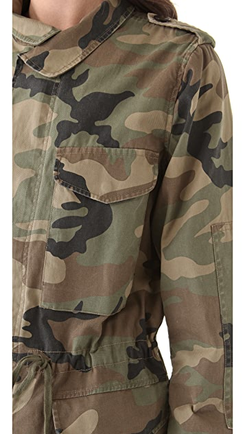 Club Monaco Lauren Camo Jacket