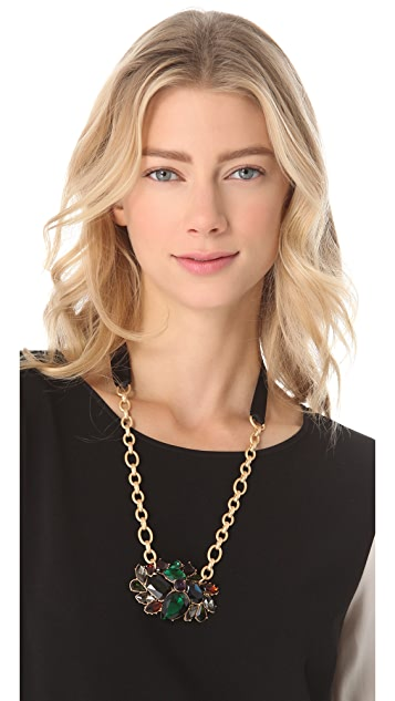 Club Monaco Ethel Cluster Necklace