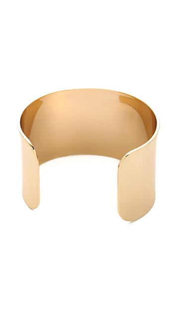 Club Monaco Wide Gold Cuff