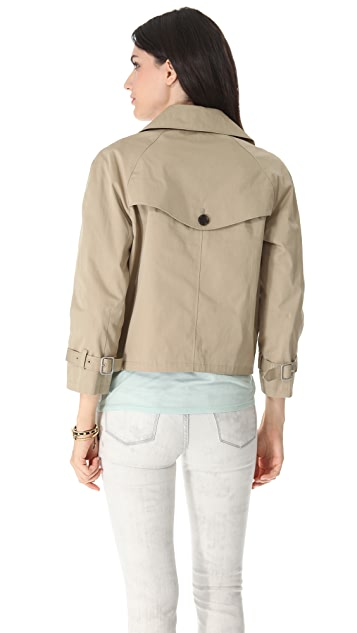 Club Monaco Alisa Short Trench