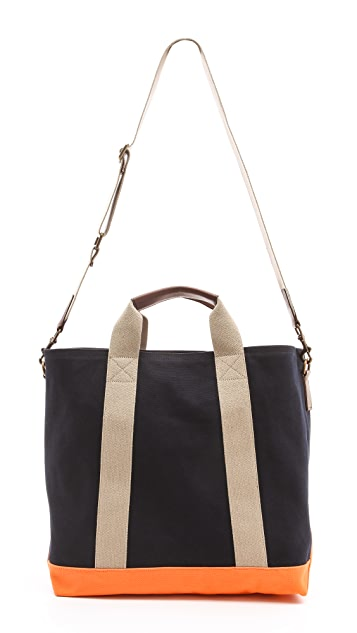 Club Monaco Canvas Beach Tote