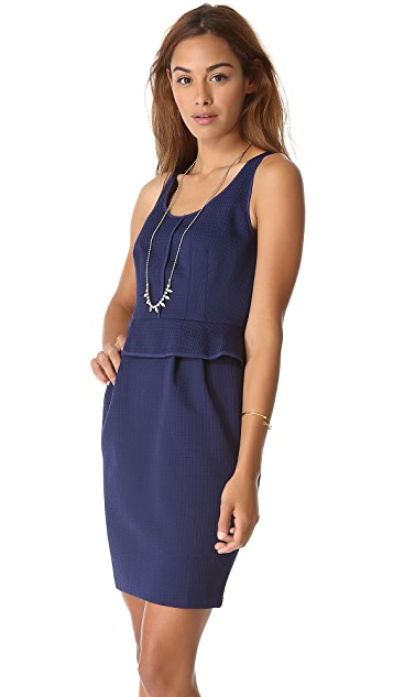 Club Monaco Onelia Peplum Dress