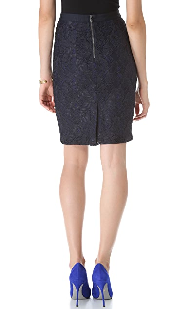 Club Monaco Charlotte Lace Skirt