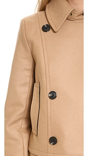 Club Monaco Franci Pea Coat