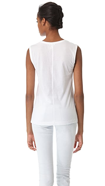 Club Monaco Daphne Cotton Shell Top