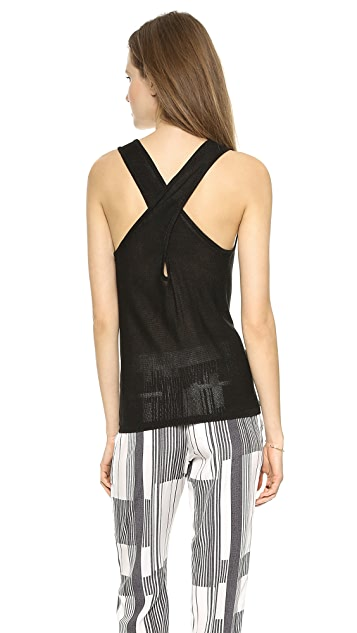 Club Monaco Alexnia Sweater Tank Top