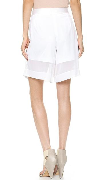 Club Monaco Dree Cullotte Shorts