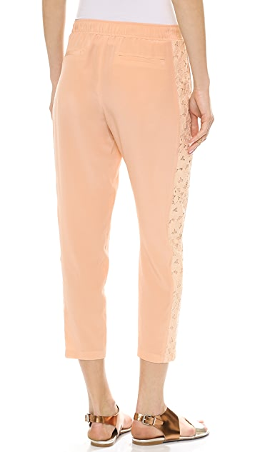 Club Monaco Justina Tuxedo Pull On Pants
