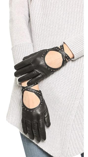 Club Monaco Adee Driving Gloves