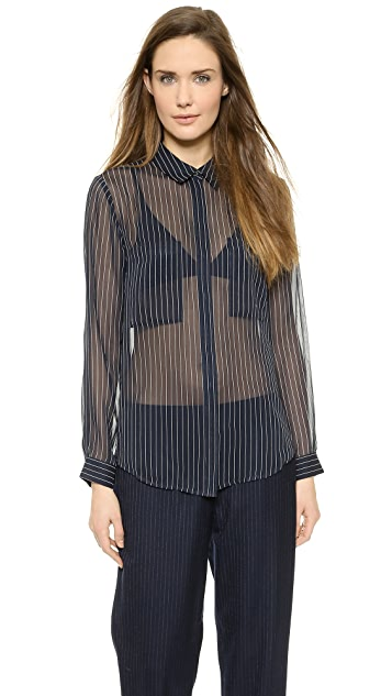 Club Monaco Coryn Silk Shirt