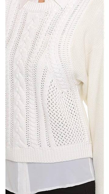 Club Monaco Lenini Cable Sweater