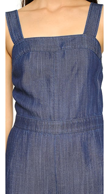 Club Monaco Tove Denim Jumpsuit