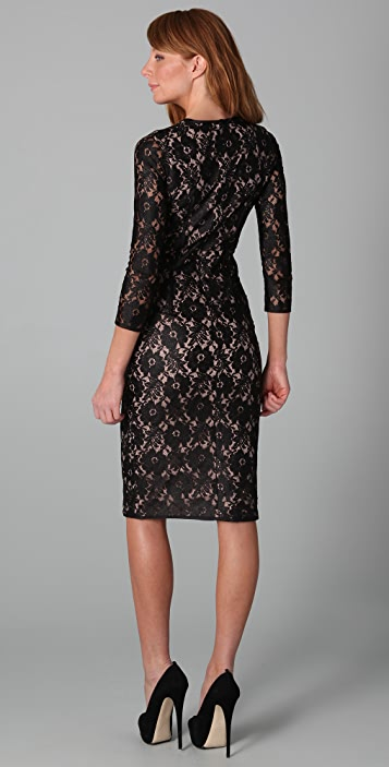 camilla and marc Scarlet Lace Dress