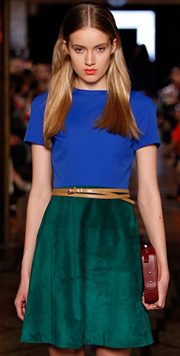 camilla and marc Evermore Suede Dress