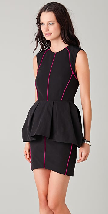 camilla and marc Sweet Leaf Peplum Dress