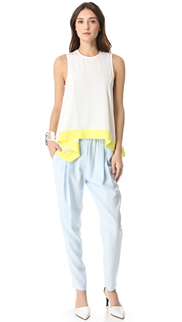 camilla and marc Suffrage Contrast Top