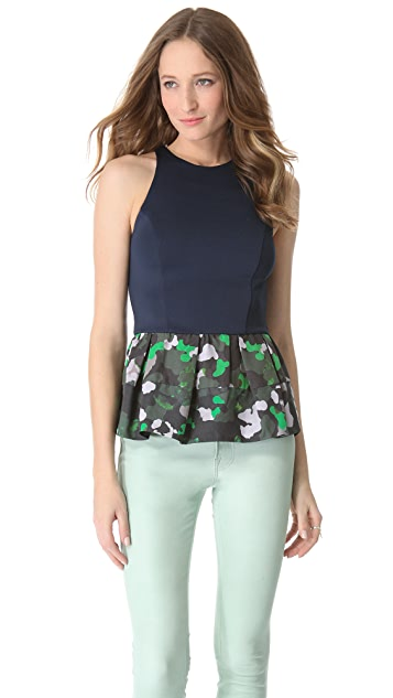 camilla and marc Slice of Light Peplum Top