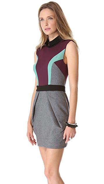 camilla and marc Statesroom Collar Ponte Dress