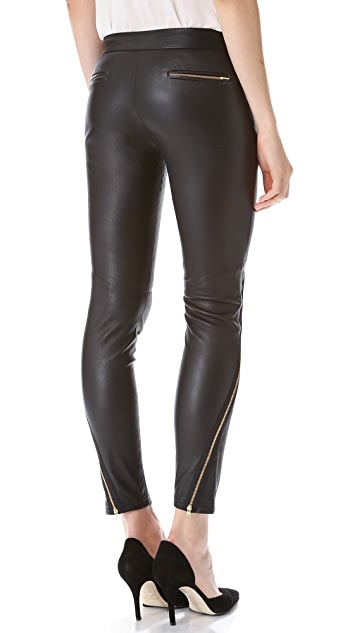 camilla and marc Modernist Stretch Leather Pants