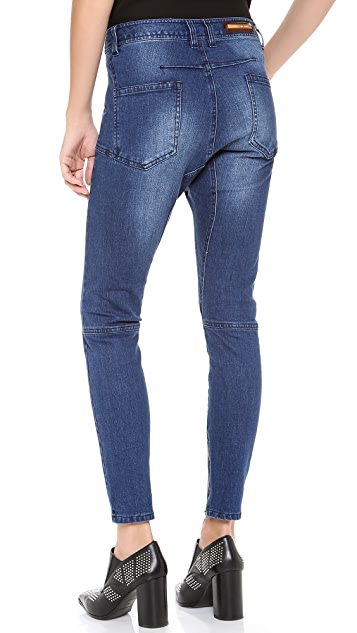 camilla and marc Burned Letter Slouchy Jeans