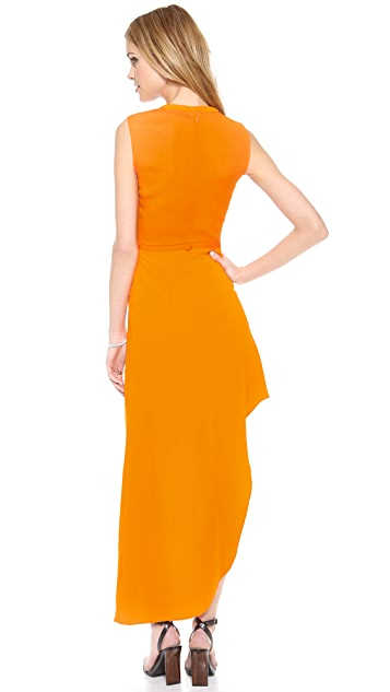 camilla and marc Critical Asymmetrical Dress