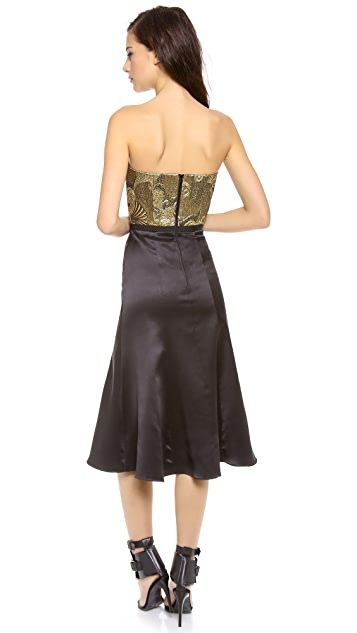camilla and marc Parallelogram Bustier Dress